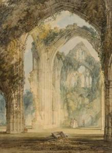 Tintern Abbey: The Transept circa 1794 by Joseph Mallord William Turner 1775-1851